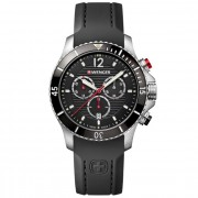 Wenger Seaforce Reloj de cuarzo Cronógrafo acero inoxidable black/black