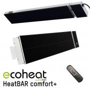ecoheat HeatBAR comfort+ Heizstrahler 1800 Watt (121 cm)