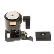 ELECTROPRIMEÃ'® Q002 Tripod Ball Head Hot Shoe w/ Quick Release Plate for Canon DSLR Camera