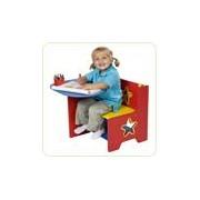 Birou din lemn pentru copii