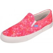 YUTE Fuchsian Pro Canvas Shoes For Women(Pink)