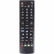 EHOP Universal Compatible Remote Control for LG LCD/LED Tv (Black)