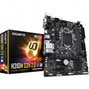 Placa de baza Gigabyte H310M S2H 2.0 , Intel H310 , Micro ATX , Sloturi 2 , DDR4