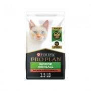 Purina Pro Plan Focus Adult Indoor Care Salmon & Rice Formula Dry Cat Food, 3.5-lb bag