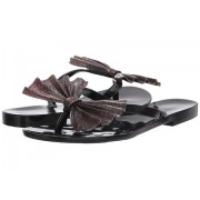 Melissa Shoes Harmonic Bow VI Black Glitter