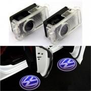 Proiectoare LED Laser Logo Holograme cu Leduri Cree Tip 2, dedicate pentru Volkswagen VW Passat 2000-2009