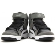 Puma Rebound Street SD Men Mid Ankle Sneakers For Men(Black, Grey, White)