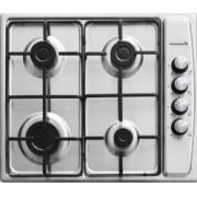 Plita Incorporabila Hausberg HB-555 4 arzatoare Gaz Aprindere electrica Siguranta Inox