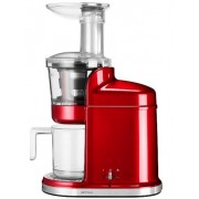 Storcator de fructe si legume KitchenAid 5KVJ0111ECA, 250W (Candy Apple)