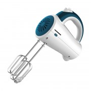 Mixer de mana Heinner Charm HM-250BL, 200 W, 5 viteze, Alb/Albastru