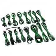 Kit cabluri modulare CableMod C-Series AXi, HXi, RM - Black/Green