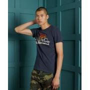 Superdry Spirit Of Japan T-Shirt XS marineblau