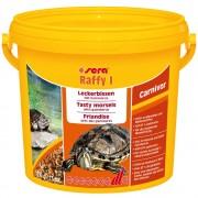 Sera Raffy I mezcla de gamarrus para tortugas.- 3.800 ml