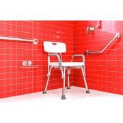 Cadeira regulável para banho com encosto e braço Cb/2 Astra