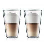 Bodum CANTEEN Set 2 verres, double paroi, 0.4 l Transparent