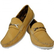 Elvace Yellow Yorkuz Casual Men Shoes-6018