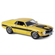 Hallmark KCK1016 1:24 Scale Yellow 1970 Ford Mustang Boss 429 Model