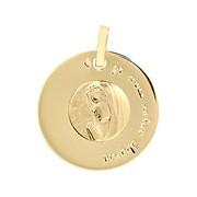 Orféva Médaille Disque Vierge en Prière
