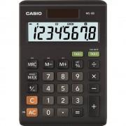 Stolni kalkulator Casio MS-8B Crna Zaslon (broj mjesta): 8 solarno napajanje, baterijski pogon (Š x V x d) 103 x 29 x 147 mm
