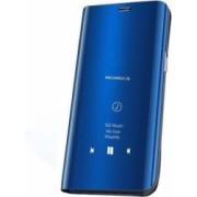 Husa Huawei Y5 2019 / Honor 8S Flip / Book / Carte Functie Stand Clear View Albastru