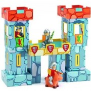 Djeco / Forticube 14-Piece Castle Building Set with Knights