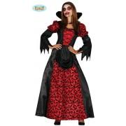 Vampier & Dracula Kostuum   Bloederige Lippen Vampier   Vrouw   Maat 42-44   Halloween   Verkleedkleding