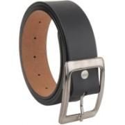 BlacKing Men Formal Black Artificial Leather Belt