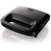 Philips HD2394/99 Sandwich Maker Grill(Black)