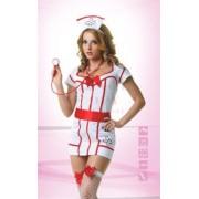 LeFrivole ápolónő jelmez - 6 részes