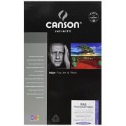 Canson Infinity Rag Photographique Fine Art Paper Papel fotográfico, Caja para 24 Hojas, 0, 21.6 x 27.9 cm, 1