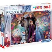 Puzzle Maxi Frozen 2 Clementoni 104 piese