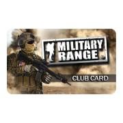 MILITARY RANGE   CLUB CARD MILITARY RANGE - tactical
