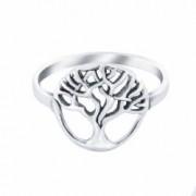 Inel din argint The Tree 8