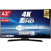 """Televizor TV 43"""" Smart LED VOX 43DSW400U, 3840x2160 (UltraHD), HDMI, USB, T2"""