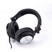 Astrum Professional DJ Pro sztereó fejhallgató nagy bőr hangsugárzókkal PC-hez vagy a sztereó erősítőhöz HS-236 HS410