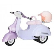 Our Generation Scooter (Purple & Blue) Doll 18