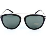 Versace Aviator Sunglasses(Grey)