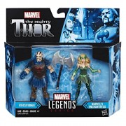 Hasbro Marvel Legends The Mighty Thor Action Figure Pack - Executioner and Marvel's Enchantress