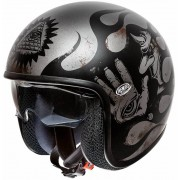 Premier Vintage BD Chromed Titanium Jet Helmet - Size: Medium