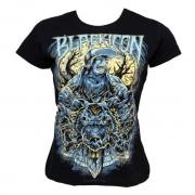 hardcore póló női - Wolf Sell - BLACK ICON - DICON020