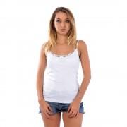 Blu Blu fehér virágmintás női trikó
