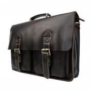 Delton Bags Vintage Cognackleurige Leren Tas
