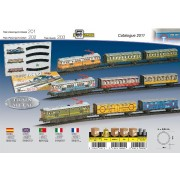 Trenulet electric - calatori (colorat)