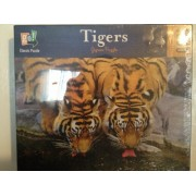 Tigers Jigsaw Puzzle, 1000 Pc, Go Classic