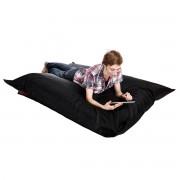Puf gigante de diseño negro BIG MILIBAG - Miliboo