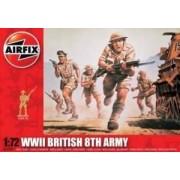Airfix British 8th Army WWII - figurki w skali 1:72 - Airfix A01709