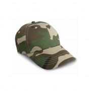 Result Camouflage cap voor volwassenen