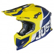 Just1 Crosshelm J12 Unit Blue/Yellow-M