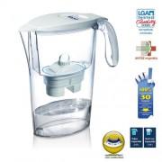 LAICA Clear Line vízszűrő kancsó (fehér) 1 db bi-flux szűrőbetéttel