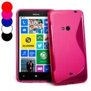 Nokia Lumia 625 Силиконов Калъф + Протектор